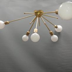 lámpara sputnik plafon 6 luces