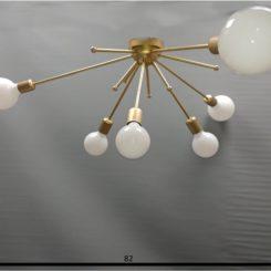 medidas lámpara sputnik plafon 6 luces