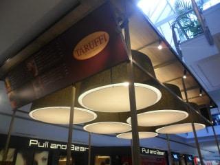 pantallas del puesto de taruffi